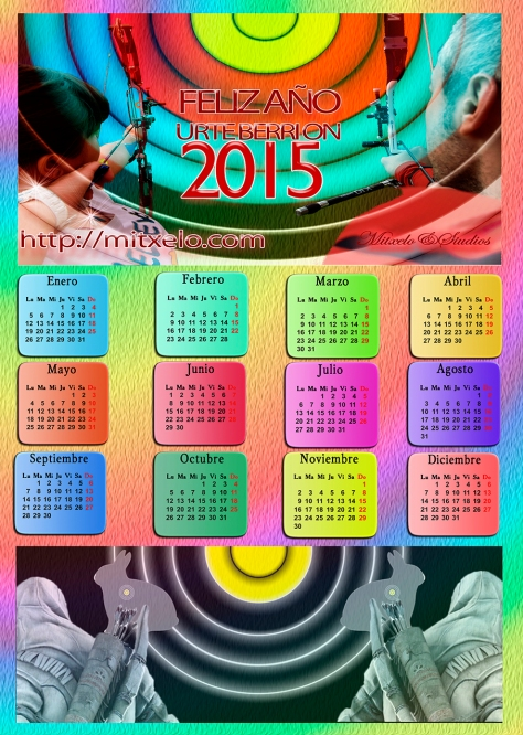 mitxelo@studios mi calendario2015 A·3web