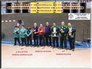 podium arco instintivo equipos