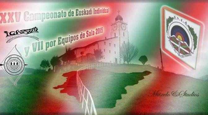 Resultados del XXV Campeonato de Euskadi Individual y VII por Equipos de Sala.