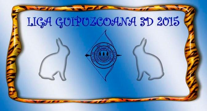 RESULTADOS Y CLASIFICACION 2ª JORNADA DE LIGA GUIPUZCOANA 3D 2015