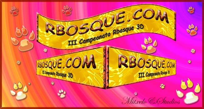 III CAMPEONATO RBOSQUE 3D