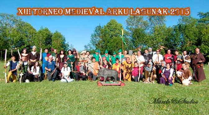 CELEBRADO EL XIII TORNEO MEDIEVAL ARKU LAGUNAK 2015