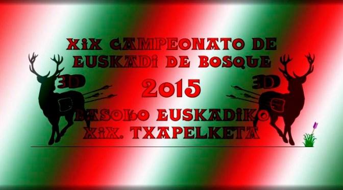 Resultados del Campeonato de Euskadi de Bosque 3D