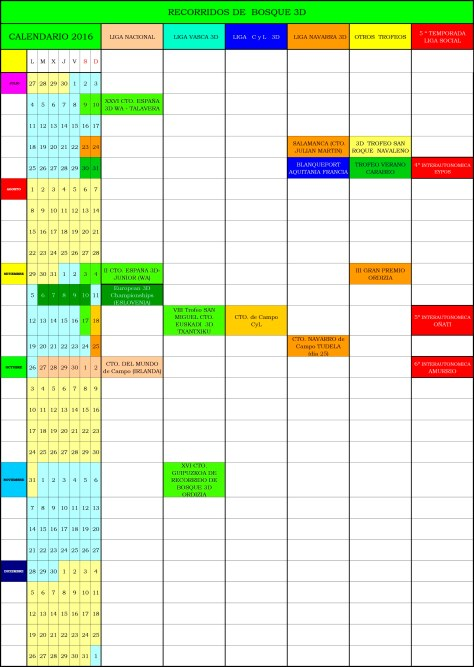 CALENDARIO Competiciones 3D- 2016 - FINAL-2