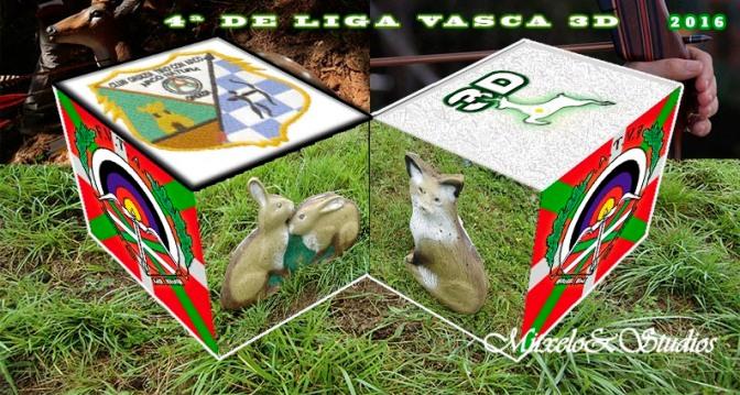 RESULTADOS DE LA 4ª TIRADA DE LA LIGA VASCA DE BOSQUE Y 2ª INTERAUTONÓMICA