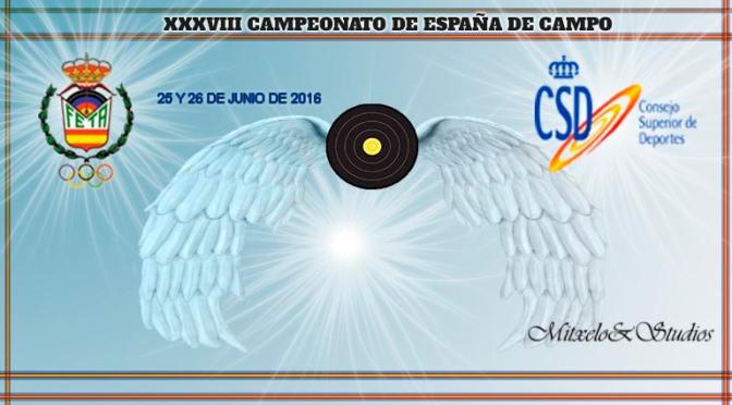 XXXVIII CAMPEONATO DE ESPAÑA DE CAMPO 2016