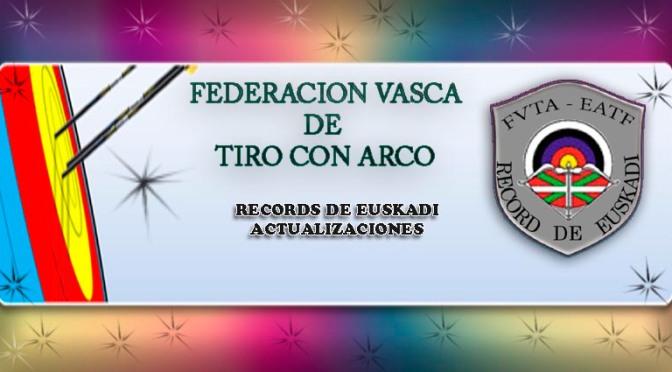 FVTA-ACTUALIZACIÓN DE RÉCORDS DE EUSKADI A  28/06/2016