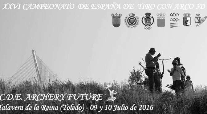 RESULTADOS DEL XXVI CAMPEONATO DE ESPAÑA DE 3D 2016