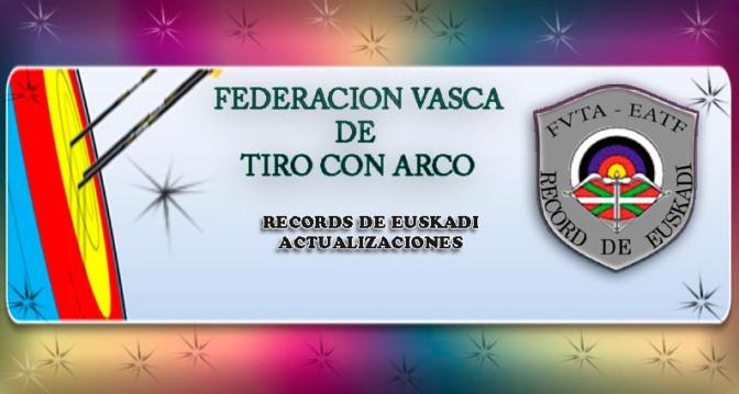 NORMATIVA DE LIGA VASCA EN SALA 2016 Y RECORDS ACTUALES .