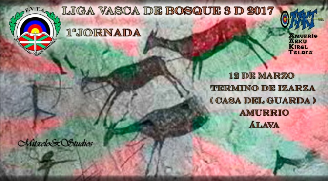 RESULTADOS DE LIGA VASCA DE RECORRIDOS DE BOSQUE 2017-1ª JORNADA