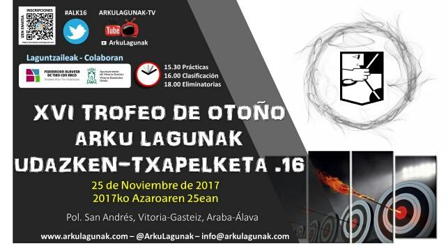 XVI Trofeo de Otoño Arku Lagunak (3ª Postal RFETA-Liga Alavesa y Liga Vasca)