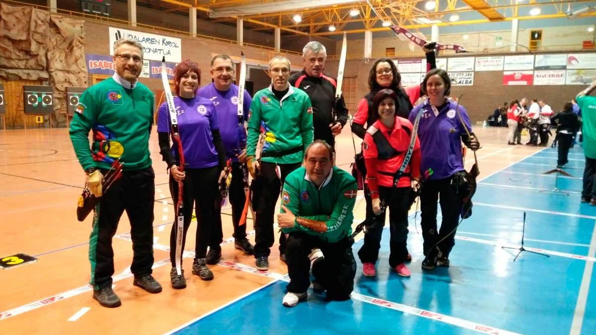 Resultados del Campeonato de Bizkaia de tiro con Arco en Sala(Bermeo 2017) 4ª N.P. - 4ª L.V.