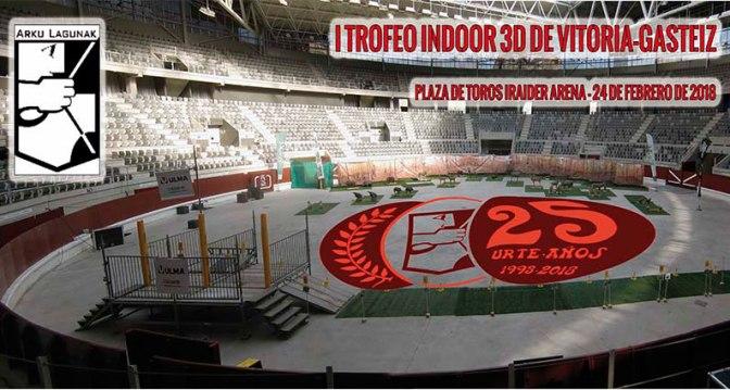 Celebrado el I Trofeo Vitoria-Gasteiz 3D Indoor